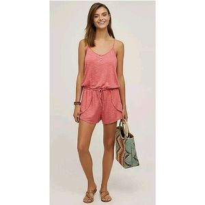 Anthro Saturday Sunday Terry Lounge Romper Small